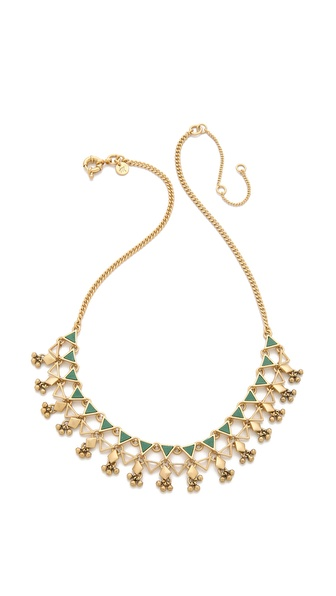 Madewell Enamel Statement Necklace