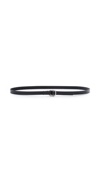 Madewell Skinny Double Ring Belt