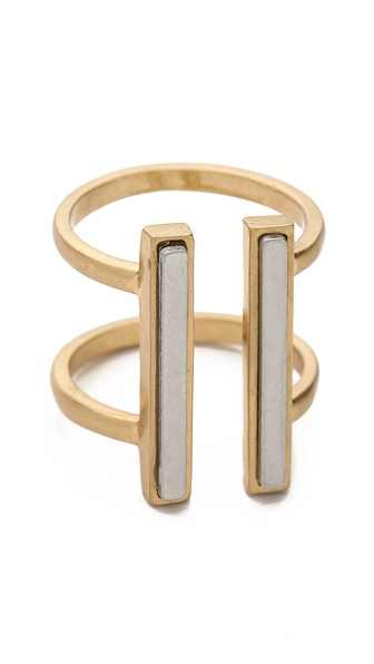 Madewell Double Inlay Ring
