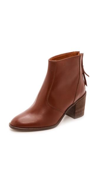 Kupi Madewell cipele online i raspordaja za kupiti Madewell Slim Back Zip Billie Booties Pecan cipele