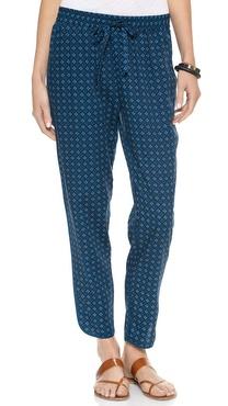 Madewell Printed Slouchy Pants