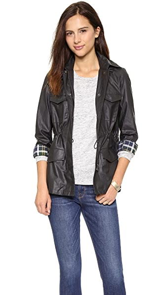 Madewell Coated Outbound Jacket