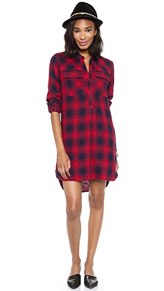 Madewell Emi Popover Shirt Dress