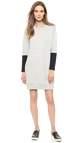 Madewell Tower Rib Terry Dress