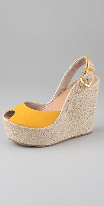 Madison Harding Casey Platform Wedge Espadrilles