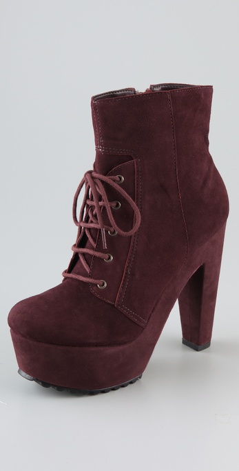 Madison Harding Jack Suede Platform Booties