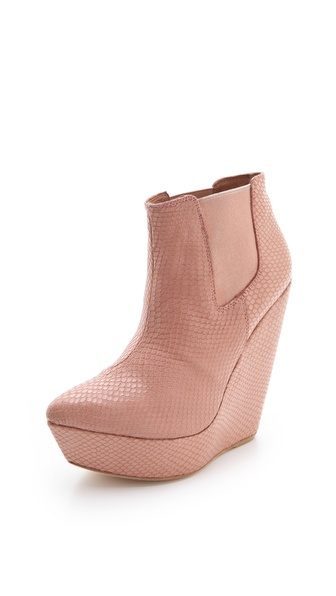 Madison Harding Lyne Snake Booties