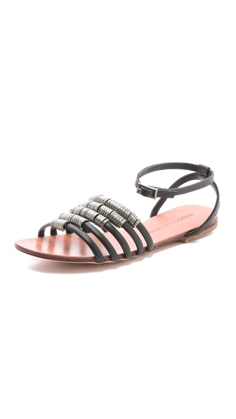 Madison Harding Arty Flat Sandals