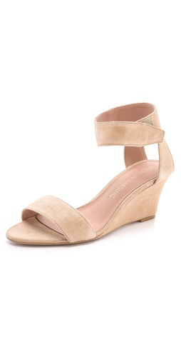 Madison Harding Shavonne Low Wedge Sandals at Shopbop.com