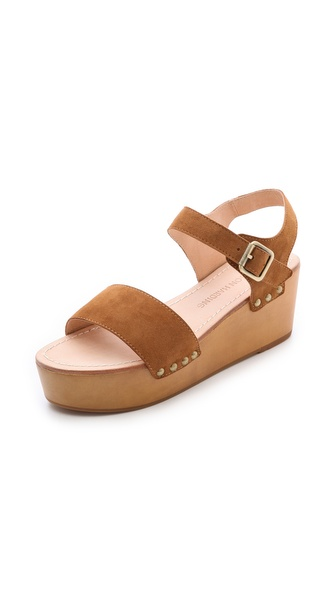 Madison Harding Jo Platform Sandals - Brown at Shopbop / East Dane