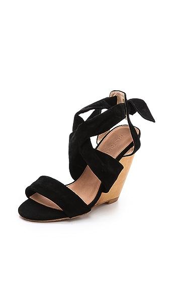 Madison Harding Kira Wedge Sandals