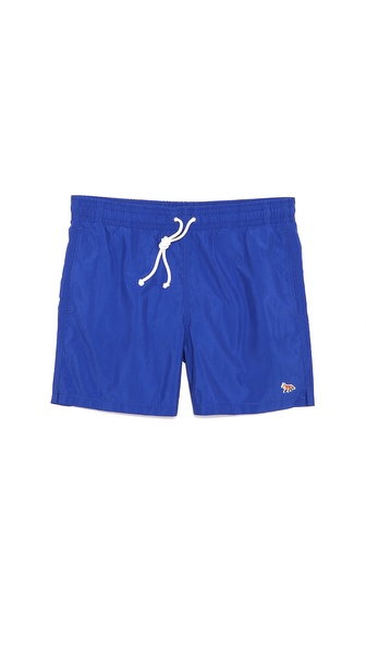 Maison Kitsune Swim Trunks