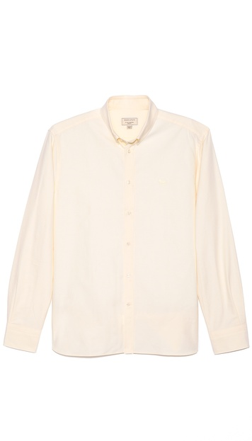 Maison Kitsune Fox Embroidery Sport Shirt