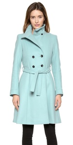 kitsune twiggy trench coat