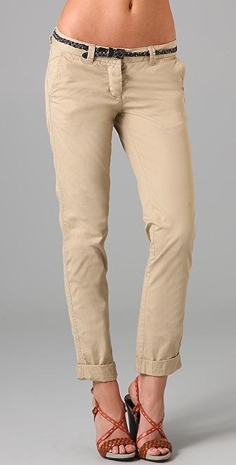 Maison Scotch Belted Chino Pants
