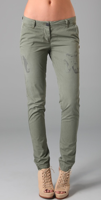 Maison Scotch Tattoo Chino Pants