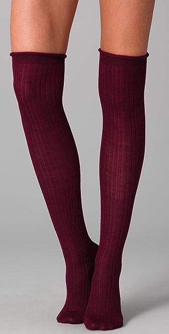 Maison Scotch Knee High Socks