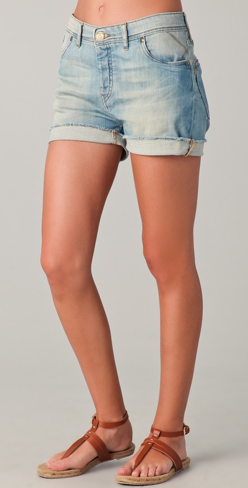 Maison Scotch No. 2 Boyfriend Shorts