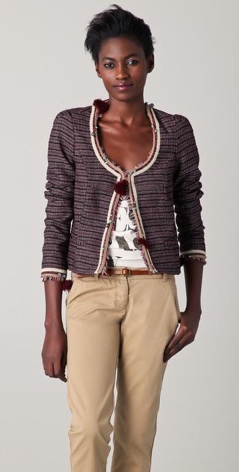 Maison Scotch Embellished Fashion Jacket