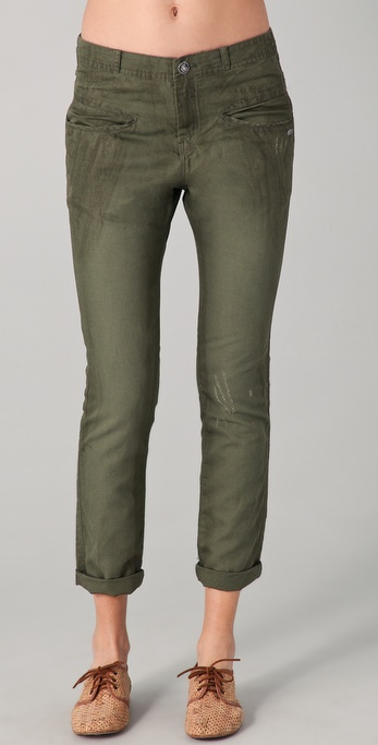 Maison Scotch Military Pants