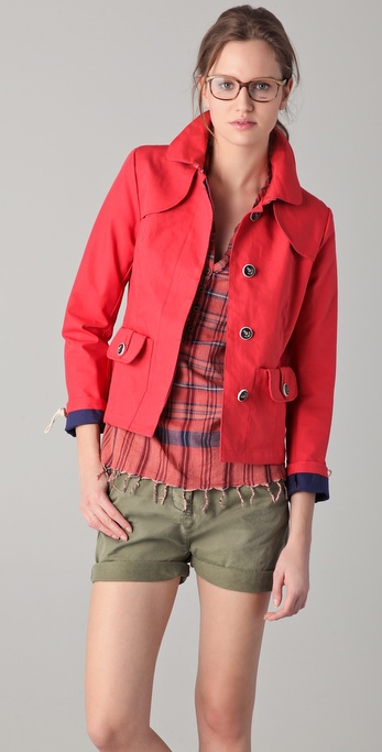 Maison Scotch Bonded Sailor Jacket