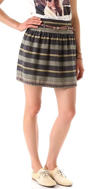 Maison Scotch Belted Beach Skirt