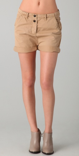 Maison Scotch Workwear Carpenter Shorts