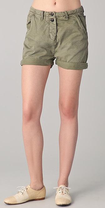 Maison Scotch Workwear Carpenter Shorts