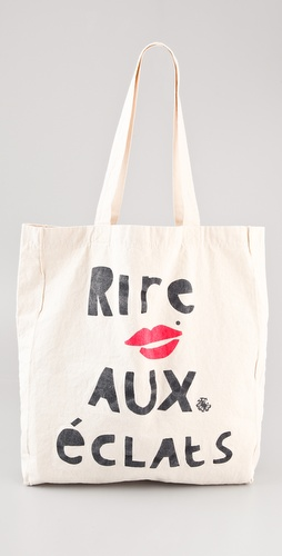 Maison Scotch Rire Aux Eclats Canvas Tote