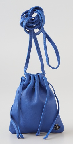 Maison Scotch Mini Drawstring Satchel