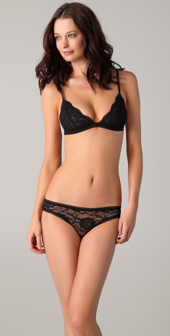 Maison Scotch Lace Bra and Briefs Set