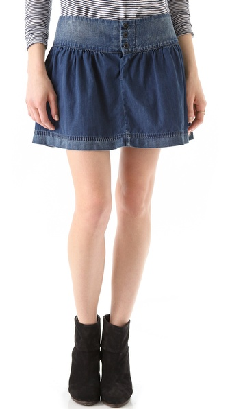 Maison Scotch Denim Skirt