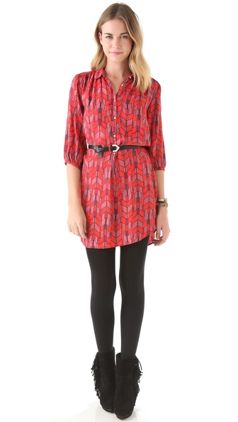 Maison Scotch Tunic Dress