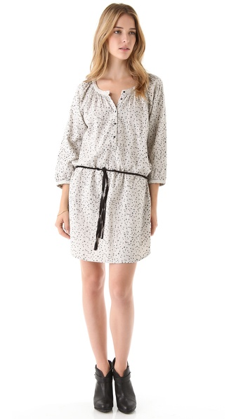 Maison Scotch A Line Dress with Belt