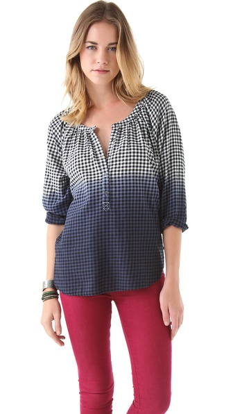 Maison Scotch A Line Woven Top