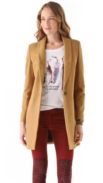 Maison Scotch Tailored Coat