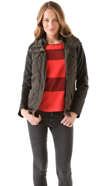 Maison Scotch Short Nylon Jacket