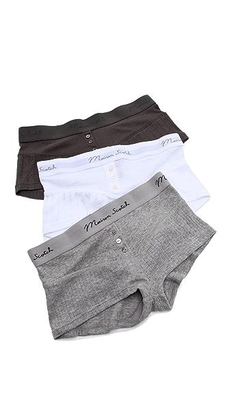 Maison Scotch Boxer Shorts Set
