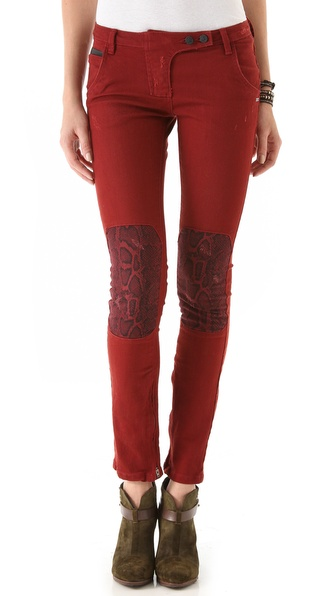 Maison Scotch Patchwork Jeans