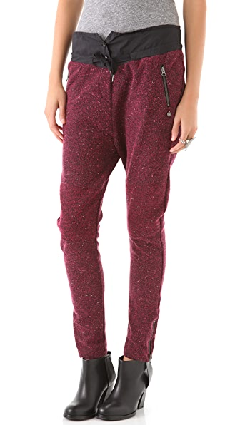 Maison Scotch Knit Sweatpants with Drawstring