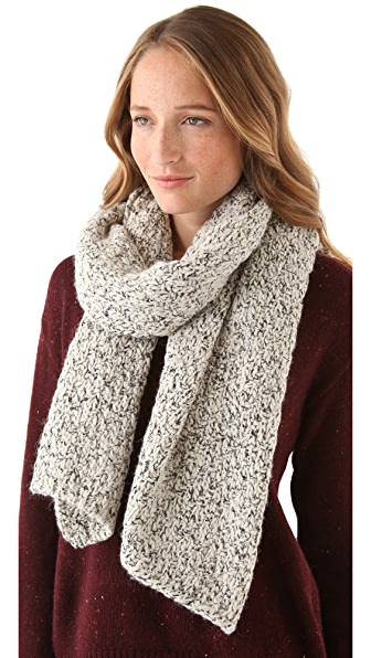 Maison Scotch Knit Melange Scarf