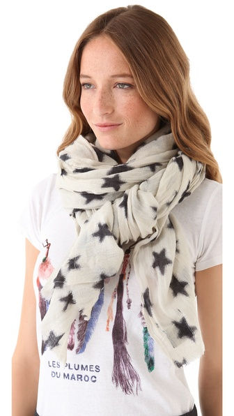 Maison Scotch Stars Scarf