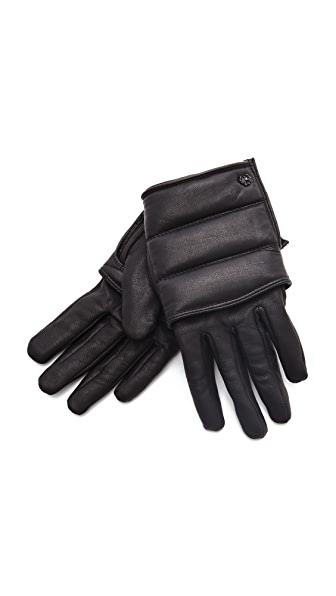 Maison Scotch Leather Gloves