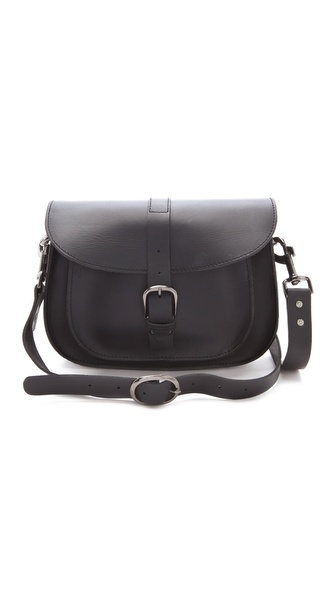 Maison Scotch Leather Shoulder Bag