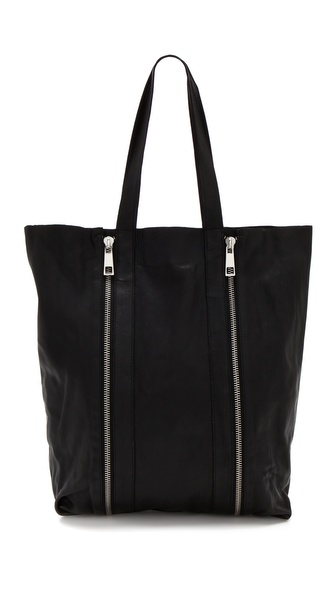Maison Scotch Leather Fashion Shopper
