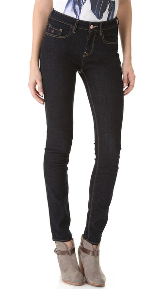 Maison Scotch Rinse Wash Skinny Jeans