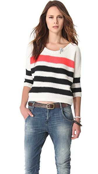 Maison Scotch Nautical Inspired Sweater