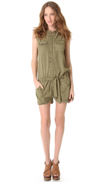 Maison Scotch Safari Romper