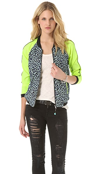 Maison Scotch Baseball Fit Retro Jacket