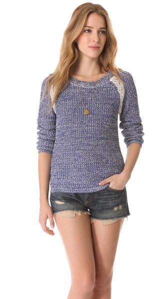 Maison Scotch Colorful Melange Sweater